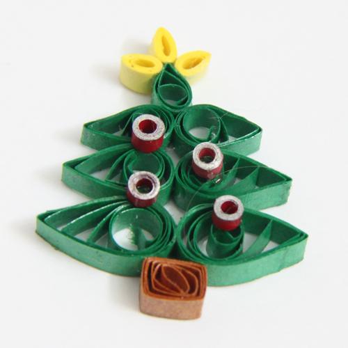 Christmas tree tutorial - Honey's Quilling