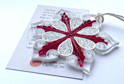Quillspiration - A Roundup of Paper Quilling Christmas Ornaments ...