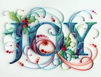 paper quilling christmas art yulia brodskaya joy