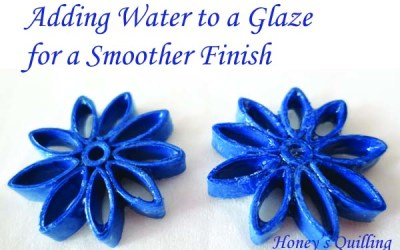 Adding Water to Sealants and Glazes