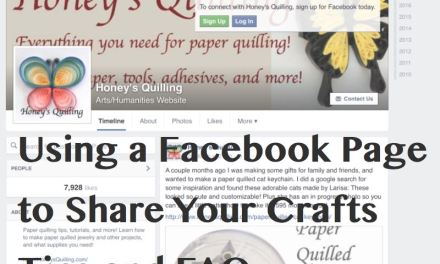 Starting and Using a Facebook Page for Crafts – Tips and FAQ