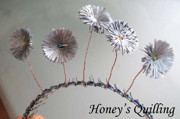 flowered headband featured