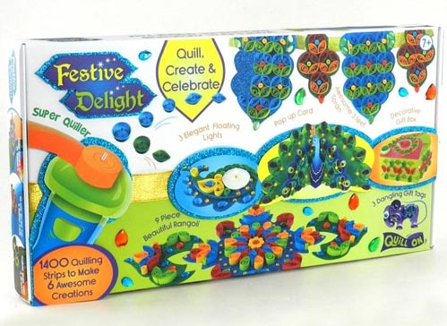 festive delights quilling kit from Let's Quill On