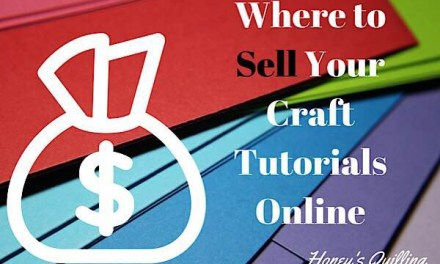 Best Places to Sell Craft Tutorials Online