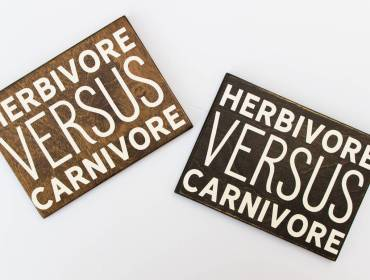 wall decor for vegans