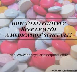 Elderly Medication Guideline Schedule
