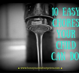 10 Chores your Child Can Do