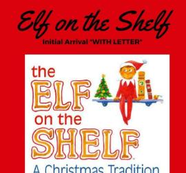 Elf on the Shelf Arrival & LEtter