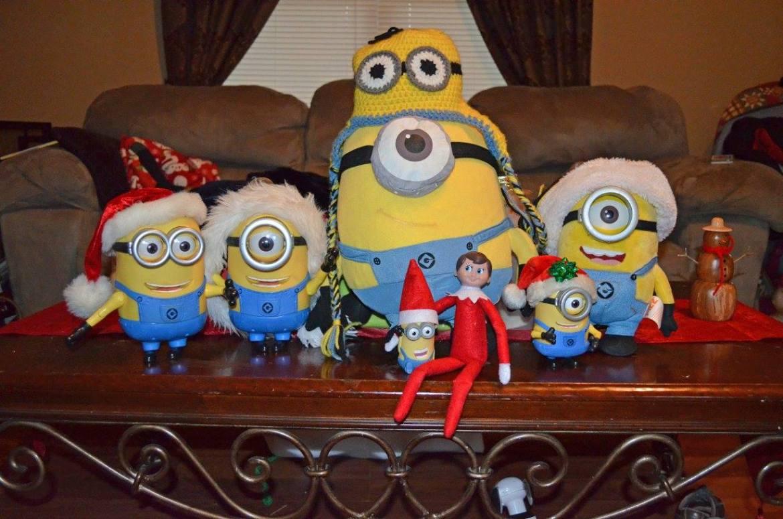 Unique Elf Ideas, creative, Elf on the Shelf, Elf minion party