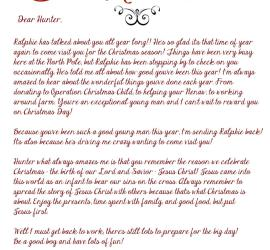 Elf on the Shelf, Arrival Letter, Jesus, Christmas, EOTS, Free Download