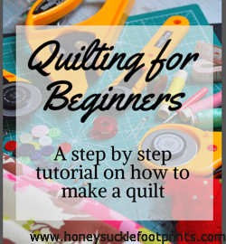 Quilting for Beginners, Quilting, Learn to quilt, Easy, Sewing
