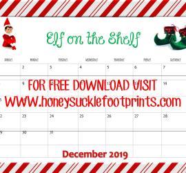 Elf on the Shelf 2019 - FREE DOWNLOAD