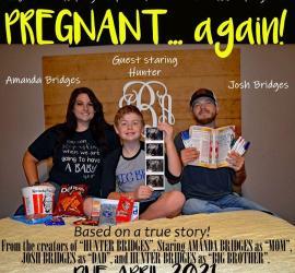 Pregnancy Announcement for Social Media