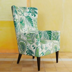 Floral Arm Chair Rustic Dining Table And Chairs Honeysuckle Life Victor Armchair West Elm Green