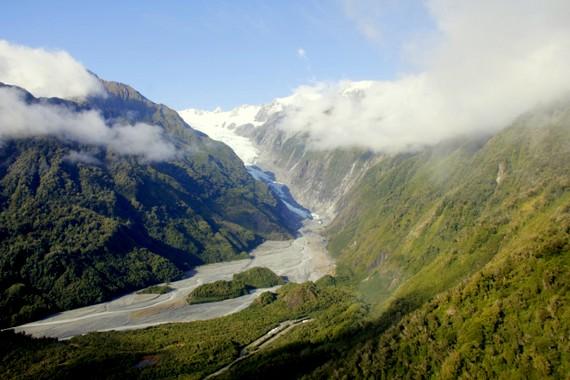 Franz Josef Glacier morraine