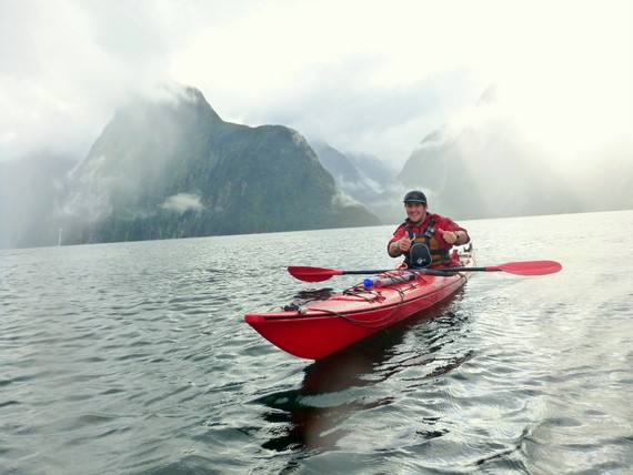 Sea Kayak Fjordland guide