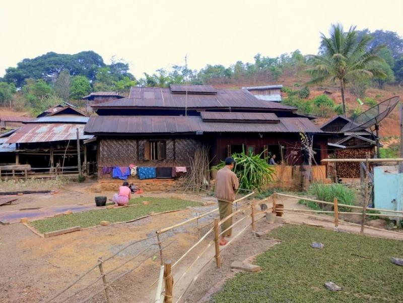 Hsipaw Chiefs house and tea factory