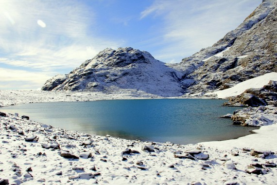 Franz JosefGlacier lake