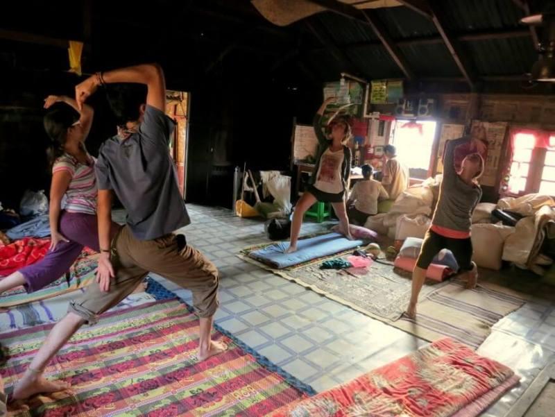 Yoga in Myanmar