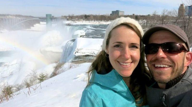 Honeymoon Niagara Falls in Winter, NY