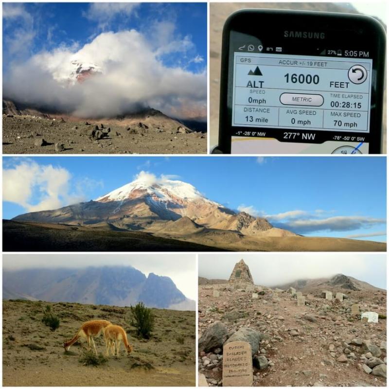 Chimborazo, Ecuador's largest volcano