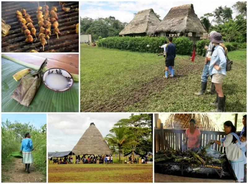 Sani Kichwa village