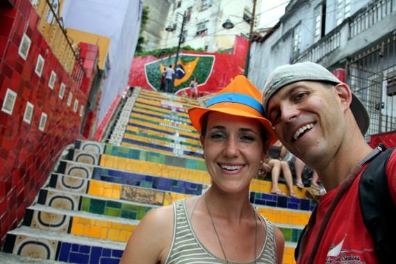 Escadaria Selarón, Santa Theresa, Rio
