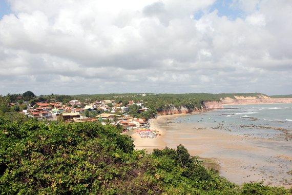 Praia de Pipa overview