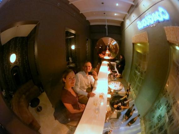 Graham Beck Steenberg Hotel champagne bar Gorgeous