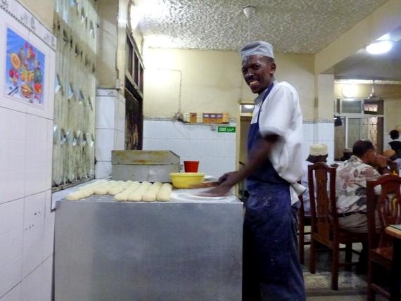 Tanzanian Chapatis