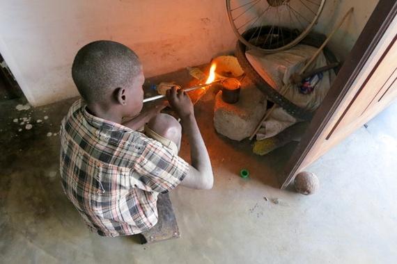Silversmiths in Mozambique