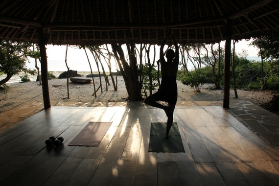 African Yoga Project at Kinondo Kwetu, Kenya