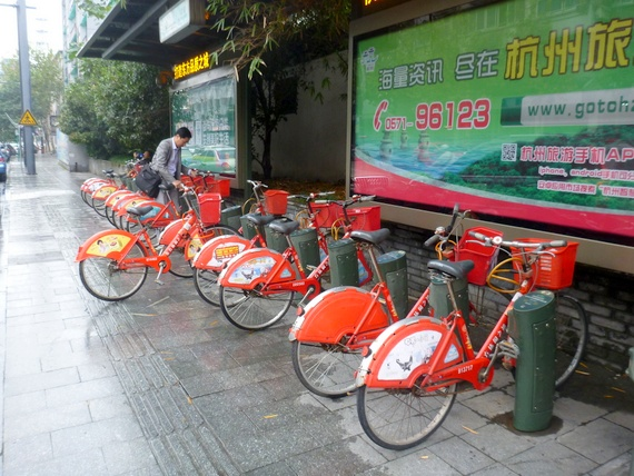 hangzhou bike rental