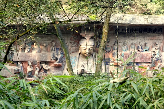 Dazu, home to 50,000 Buddhist cliff carvings