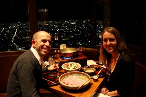 Japanese dining at park Hyatt tokyo