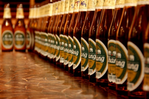 How strong is Chang beer