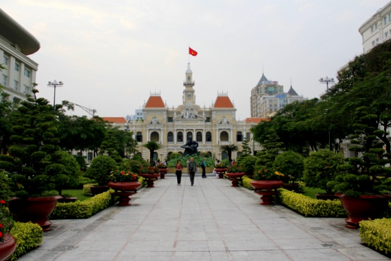 French colonial architecture HCMC