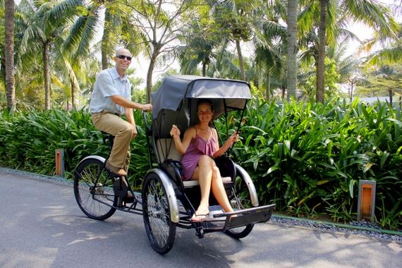 Bike limo in Vietnam