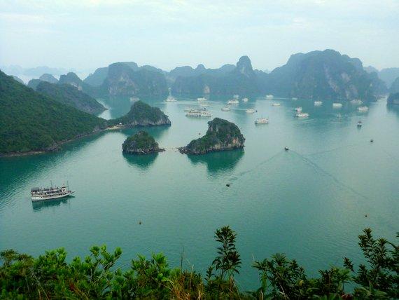 Hike in Halong Bay, Vietnam