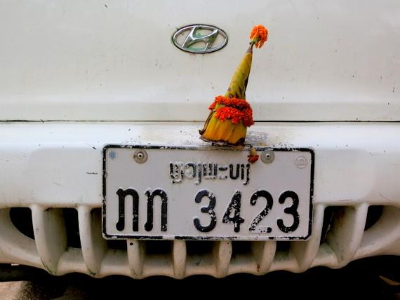 Car decoration Laos