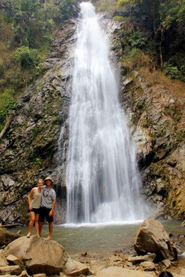 The Waterfall at Chiang Rai