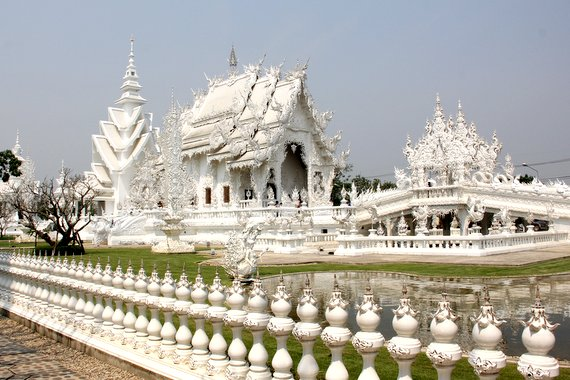 Damage to White Temple