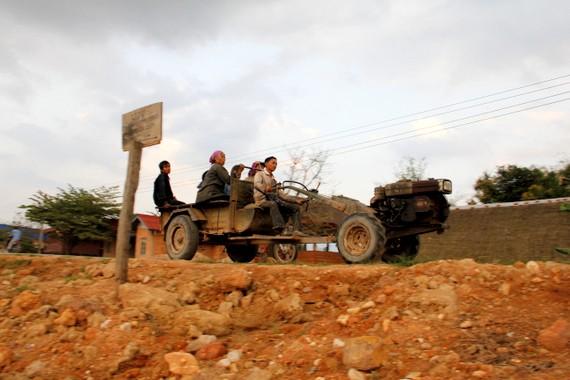 Tractor Car Laos