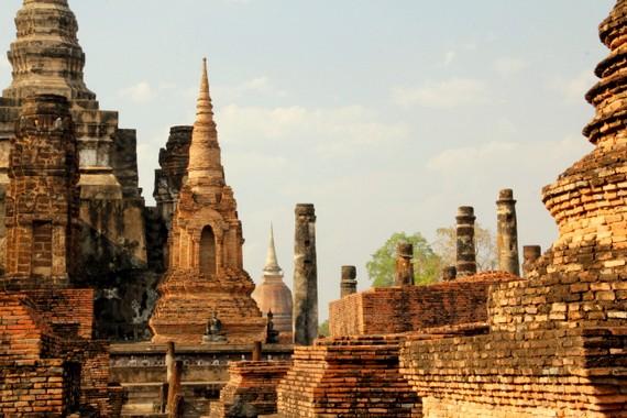 Temples of Sukhothai Thailand