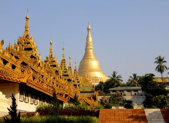 The Shwedagon Pagoda is 2,600 years old