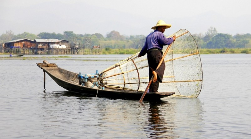 inle lake fishermen