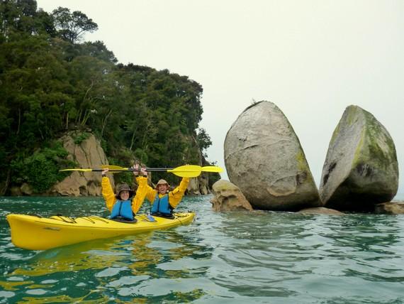 Split Apple Rock Abel Tasman