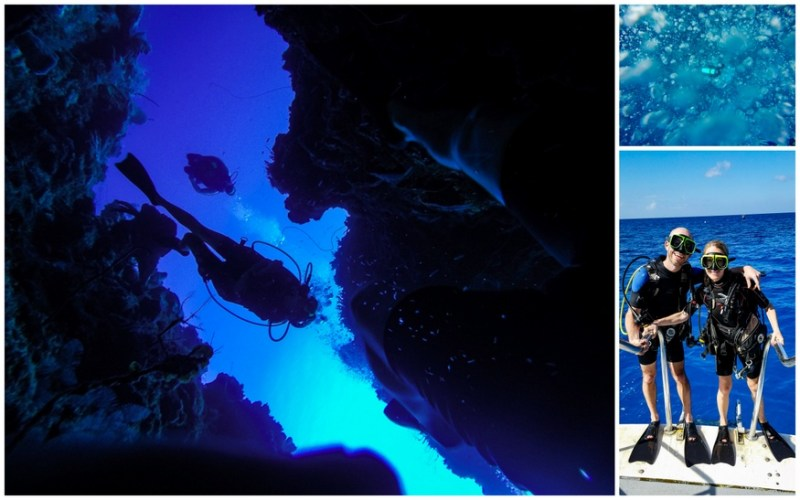 Diving Trinity Caves-Grand Cayman