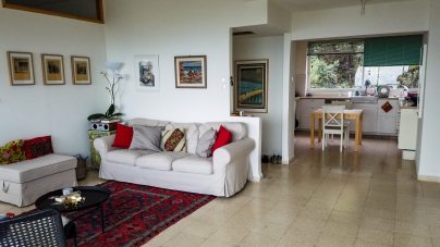 How cute is our Haifa Airbnb! Stay with our awesome host Abigail if you come: https://www.airbnb.com/rooms/12062022