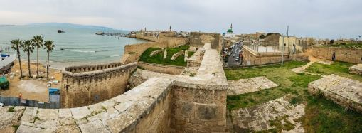 The UNESCO ancient fortified city of Akko.